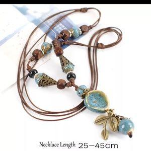 St.kunkka Ceramic Necklace. New
